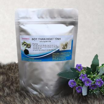 Gói Bột Than Hoạt tính 100% tự nhiên nguyên chất dùng cho mỹ phẩm 150g