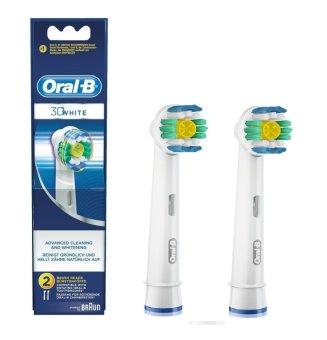 Vỉ 2 đầu bàn chải Oral-B 3D White Pro White