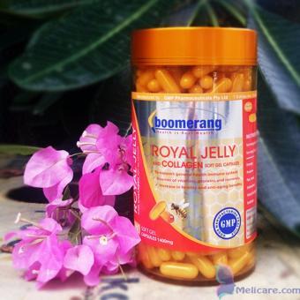 Viên uống sữa ong chúa Royal Collagen Boomerang 360 viên BM01