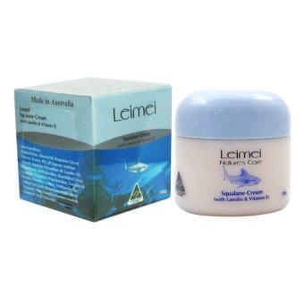 Kem Dưỡng Trắng Da Chiết Xuất Dầu Gan Cá Mập Leimei Squalene Cream 100g