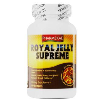 Viên uống chiết xuất từ sữa ong chúa PHARMEKAL Royal Jelly Supreme 60 viên