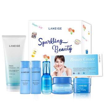 Bộ dưỡng ẩm toàn diện Laneige dành cho da khô kèm phiếu massage trị giá 550,000đ