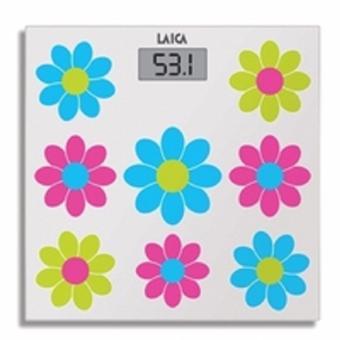 Cân sức khỏe nhiều màu sắc mặt kính cường lực Laica Italia PS1050