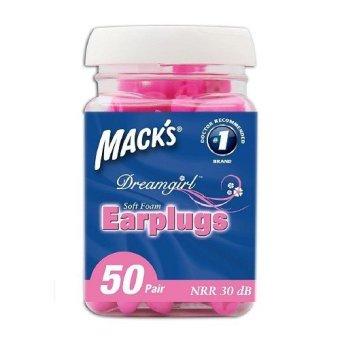 Bộ 50 cặp nút bịt tai Dream Girl Mack's
