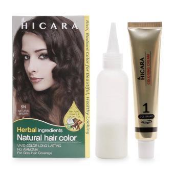 Thuốc nhuộm tóc màu nâu Hicara 40g