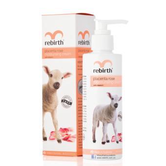 Sữa dưỡng thể với chiết xuất nhau thai cừu RE-BIRTH Placenta Rose Moisturising Cream 200ml
