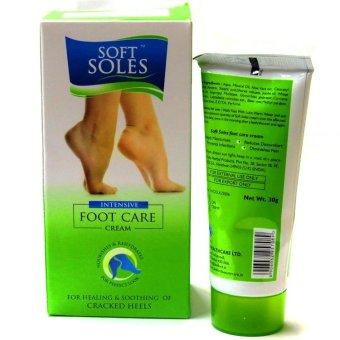 Kem dưỡng mềm gót chân Leeford Soft Soles 30g