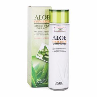 Sữa dưỡng trắng và trẻ hoá làn da ALoe Stem-Rich Emulsion Cao cấp Hàn Quốc 150ml - Hàng Chính Hãng