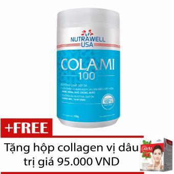Collagen Nguyên Chất Colami Hũ 150G + Tặng Hộp Collagen Adella Vị Dâu
