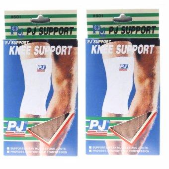 02 chiếc bó gối chân bảo vệ chấn thương (Vàng nâu) size M