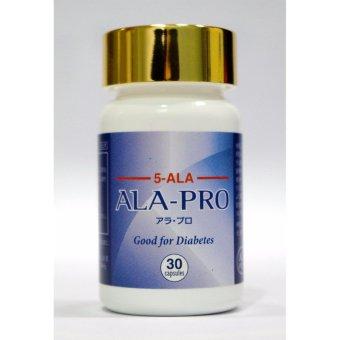 Thực phẩm bảo vệ sức khỏe- ALA Pro- hỗ trợ điều trị tiểu đường- 30 viên/lọ 9,75g