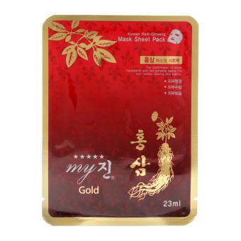 Hộp 10 miếng mặt nạ hồng sâm My Gold 23ml