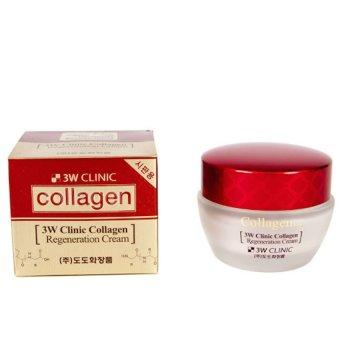 Kem dưỡng trắng da chống lão hóa 3W Clinic Collagen Regeneration Cream 60 ml