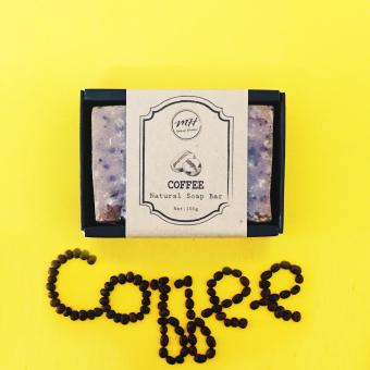 2 Xà Bông Tắm Làm Sạch Tế Bào Chết Coffee MH Natural Skin Care