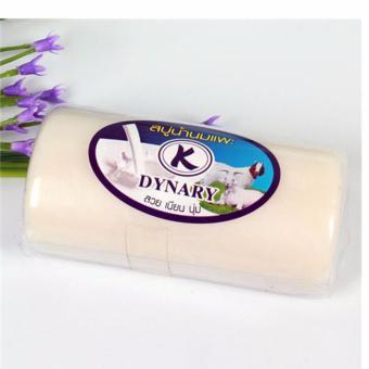 Bánh xà bông DYNARY sữa dê tắm trắng Thái Lan