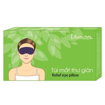 Túi mắt thư giãn trà xanh Tanamera LAMOM Relief eye pillow 200g