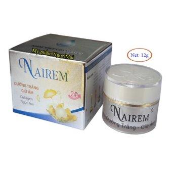 Kem dưỡng trắng, giữ ẩm da dưỡng chất Collagen - Ngọc trai Nairem (12g)