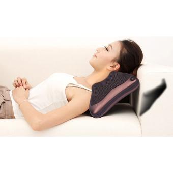 Gối massage hồng ngoại PL- 819 (Nâu)