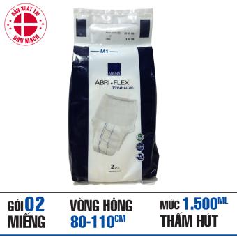 Gói Tã Quần Người Lớn Abena Abri-Flex Premium M1, 2 miếng
