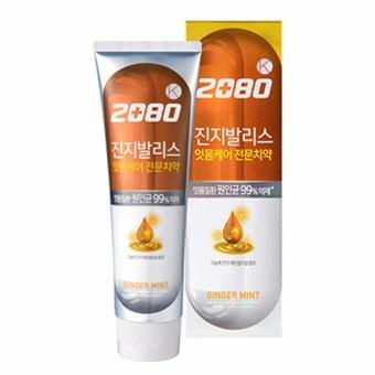 Mua Kem đánh răng loại bỏ mảng bám làm trắng và bóng răng 2080 Ginger Mint tinh chất gừng Cao cấp Hàn Quốc 120g - Hàng chính hãng giá tốt nhất