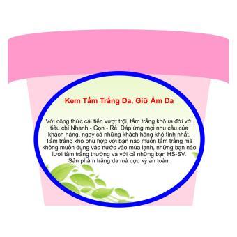 Kem Tắm Trắng Da, Giữ Ẩm Da (Tắm Trắng Khô) Trinh Nữ Hoàng Cung Dạng Sữa - 200ml - TNHC003T99