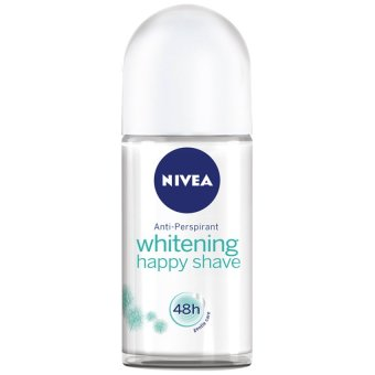 Lăn ngăn mùi NIVEA Whitening Happy Shave Roll-on 25ml