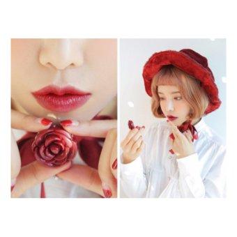 Son Dưỡng Hoa Hồng 3CE Pot Lip Brick Red - Đỏ Trầm