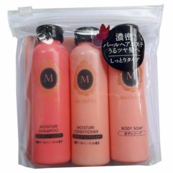 Bộ dầu gội, xã và sữa tắm MaCherie Shiseido mini 50ml x 3 - Nhật