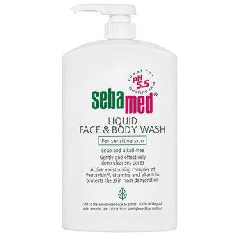 Sữa rửa mặt và body cho da nhạy cảm Sebamed pH5.5 (1000ML)