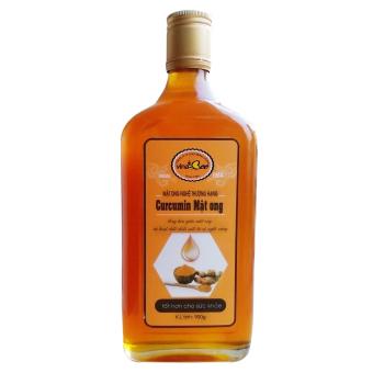 Mật ong nghệ thượng hạng curcumin mật ong vinabee 900g
