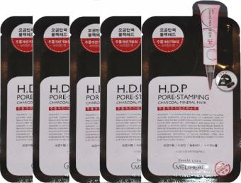 Bộ 5 Mặt nạ than hoạt tính Mediheal H.D.P Pore-Stamping Charcoal-mineral Mask