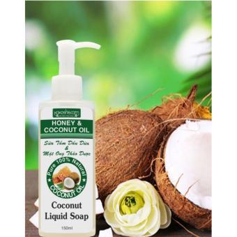 Dầu Dừa Và Mật Ong Nguyên Chất Dùng Tắm Dưỡng Da Kokoshis