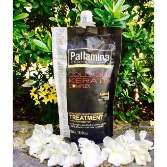 Hấp ủ tóc cao cấp Pallamina Collagen Keratin 500ml