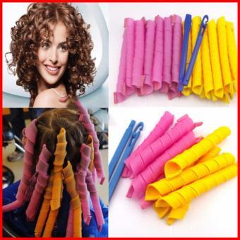 Bộ tạo kiểu tóc xoăn 18 ống Curlformer dài 20cm