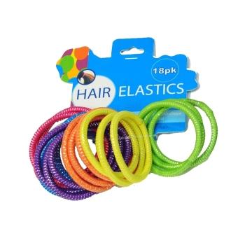 Bộ 18 sợi thun buộc tóc UBL AH0201