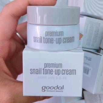 [Mini 10ml] Kem dưỡng trắng da và nâng tone da tức thì chiết xuất Ốc Sên Goodal Premium Snail Tone-Up Cream