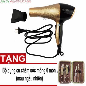 Máy sấy tóc đa năng WMC+3303 + Tặng bộ dụng cụ chăm sóc móng bỏ túi 6 món