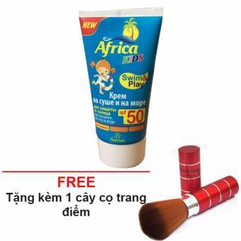 Kem chống nắng cho trẻ africa SPF 50 + Tặng 1 cây cọ trang điểm