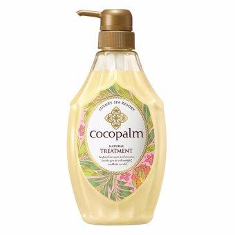 Dầu xả dưỡng tóc Nhật Bản Cocopalm chai 600ml - Hàng nhập khẩu