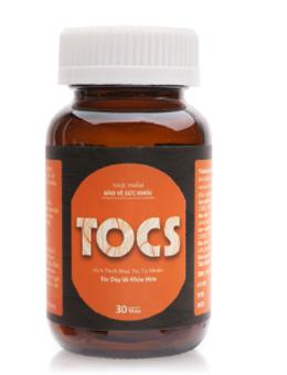 Viên uống kích thích mọc tóc tự nhiên TOCS 30 viên