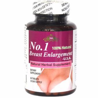 Thuốc nở ngực dạng viên uống No.1 Breast Englargement 60 viên