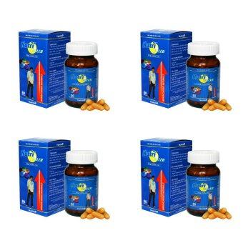 Bộ 4 hộp liệu trình tăng chiều cao tối ưu với NutriTaller (Canxi nano) 60 viên