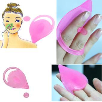 Mua Bộ 2 miếng rửa mặt, mũi và trị mụn đầu đen silicon Facial Cleansing Pad Nhật Bản giá tốt nhất