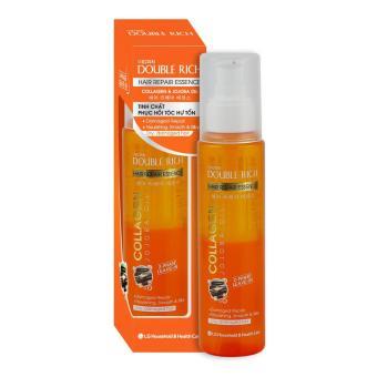 Double Rich Hair Repair Essance Collagen & Jojoba Oil - Tinh chất dưỡng tóc Phục hồi tóc hư tổn 120ml