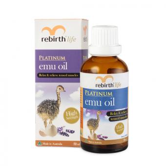 Tinh dầu đà điểu REBIRTH Platinum Emu Oil 50ml