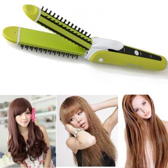 Máy uốn duỗi tóc đa năng 3 trong 1 Shinon SH-8097 (Xanh)