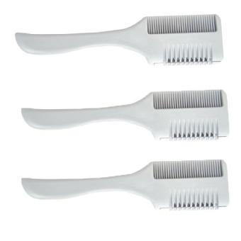 Bộ 3 chiếc lược tỉa tóc kẹp dao cạo