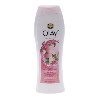 Sữa tắm Olay Fresh Outlast Cooling White Strawberry & Mint 400ml