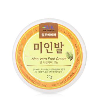 Kem dưỡng da chân AVK Aloe Vera Foot Cream 70g