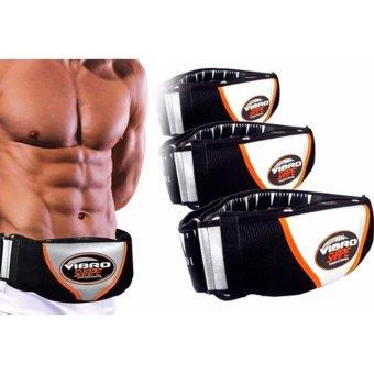 Đai massage nóng và rung Vibro Shape eo thon và giảm mỡ toàn thân (Đen)